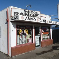 At the Shooting Range The Old West Shootery and Supply in Eureka sells guns, ammunition and supplies, and features an indoor gun range for handguns and small-caliber rifles. photo by ryan burns