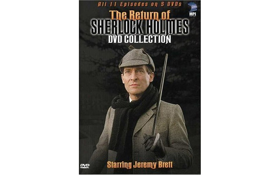 The Return of Sherlock Holmes - DVD SERIES STARRING JEREMY BRETT
