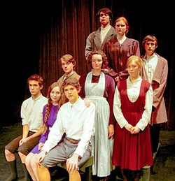 The Young Actor's Guild cast of Spring's Awakening, presented last weekend by Northcoast Preparatory Academy.