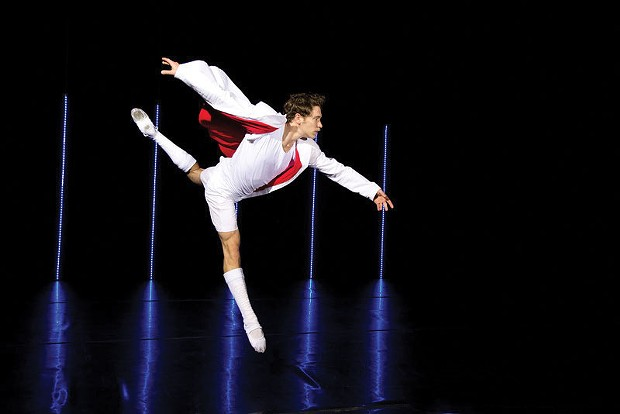 Theater and dance fans won't want to miss the Trey McIntyre Project's final tour as a full-time dance troupe, performing at the Van Duzer Theatre at 8 p.m. on Tuesday, March 25