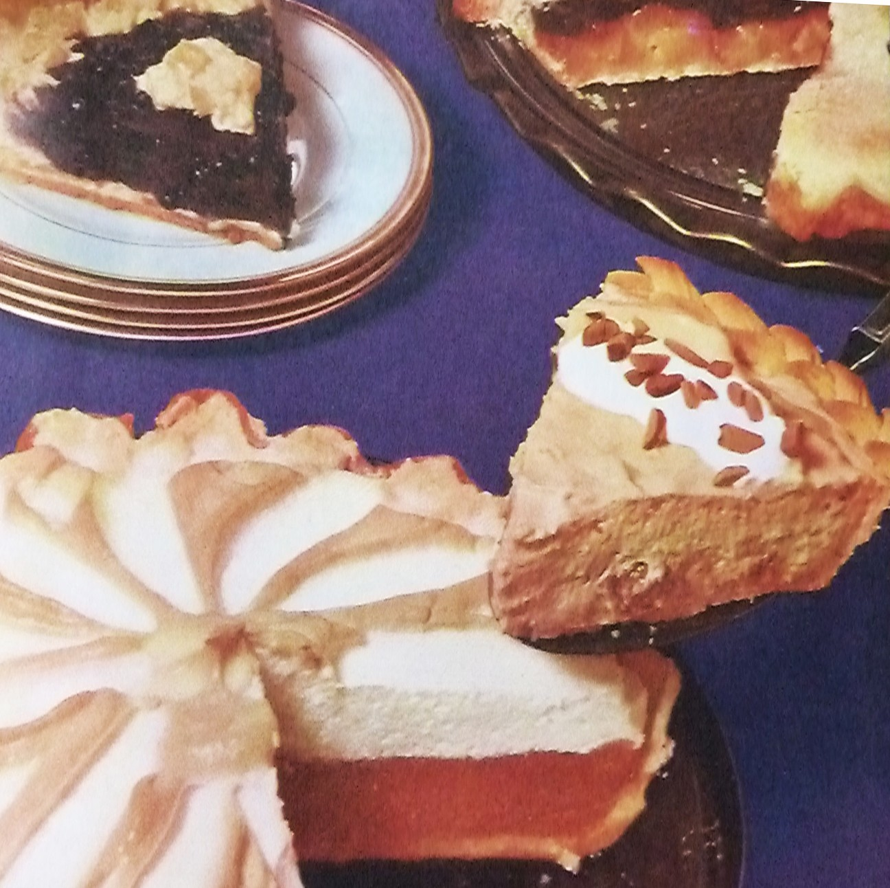 Toffee Dream Pie - PHOTO FROM PILLSBURY'S 15TH GRAND NATIONAL -100 NEW BAKE OFF RECIPES