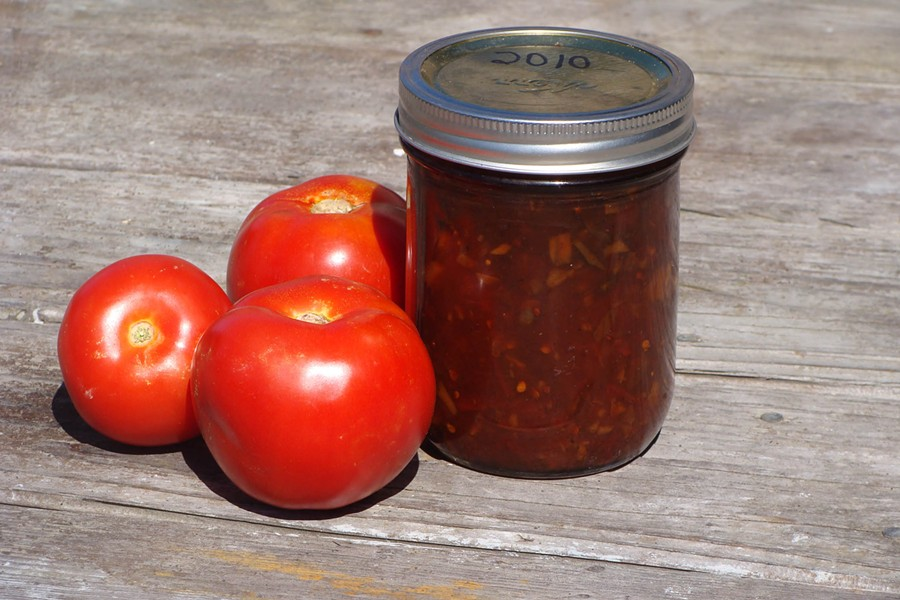 Tomato Chutney - PHOTO BY DARIUS BROTMAN