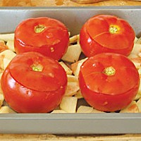 Pomodori col Riso — What to do with those gorgeous tomatoes