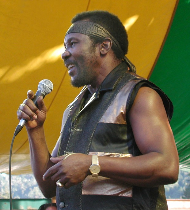 Toots Hibbert at Reggae on the River 2005 - PHOTO BY BOB DORAN