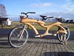 Try a wooden bike!