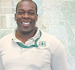 Tyrone Kelley, Six Rivers National Forest Supervisor - PHOTO BY HEIDI WALTERS