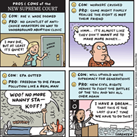 Pros & Cons of the New Supreme Court