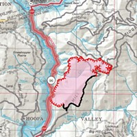 Mill Creek Fire Grows to More Than 2,000 Acres