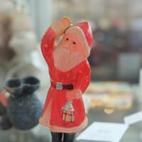 Santa Claus in the Victorian Village