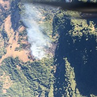 UPDATE: Wildfire Burning in Heavy Timber West of Honeydew