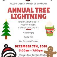Willow Creek Christmas Tree Lighting