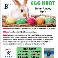 Humboldt B52s Easter Egg Hunt