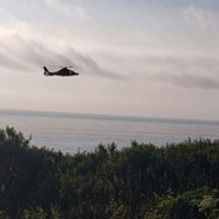 Coasties Rescue Stranded Hiker