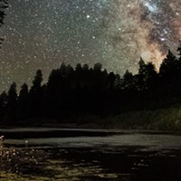 North Coast Night Lights: Eel River Stargazer