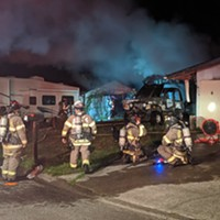 Resident in Critical Condition After House Fire Rescue