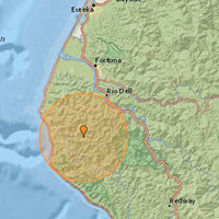 Earthquake Hits Petrolia Area at 4:20 p.m.
