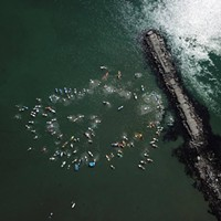 A Peaceful Protest and Paddle Out