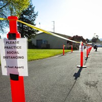 Free COVID Testing Site in McKinleyville on June 29