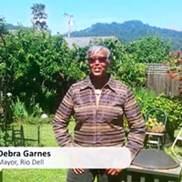 Rio Dell Mayor Debra Garnes Featured in Statewide PSA