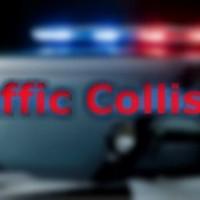 Red Corvette Crashed on 101 by Fernbridge