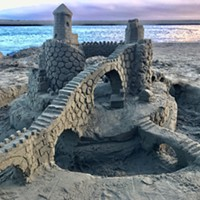 Winners of This Year's Dispersed Sand Sculpture Festival