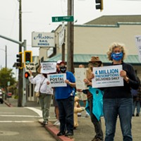 Huffman Votes for Postal Service Act as Dozens Rally in Eureka