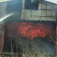 UPDATE: Barn Fire Near Arcata Continuing to Burn