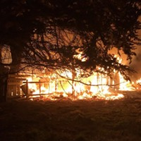 Fire Destroys Second Arcata Barn (With Video)