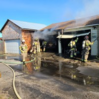 Cars Destroyed in Eureka Garage Fire