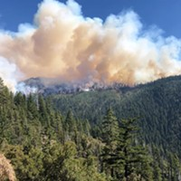 Red Salmon Complex Update - Red Flag Warning, Heavy Smoke Impacts