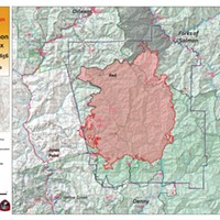 Red Salmon Fire Nearly 92,000 Acres