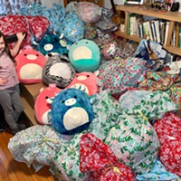 Local Girl Collects Over 100 Plush Toys and Blankets for Homeless Youth
