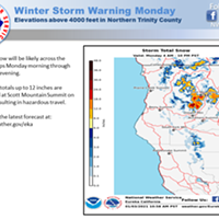 NWS Issues Winter Storm Warning for Monday