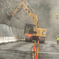Last Chance Slide Clean-up Continues After Record Rain; Nighttime Closures Returning