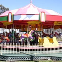 Harper Motors Carousel Has a New Home