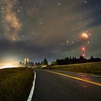 North Coast Night Lights: Eclipse of the Super Flower Moon
