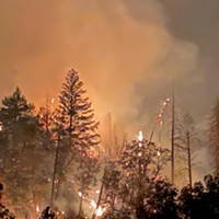 Fire Updates: Knob Fire Impacting Air Quality; Windy Conditions Forecast in Some Fire Areas