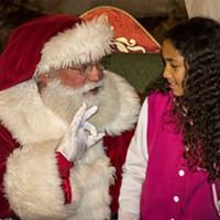 Santa on the Plaza
