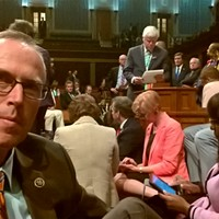 Taking  A Stand by Sitting Down: Jared Huffman Takes the Floor