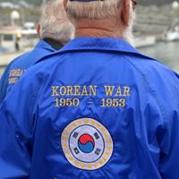 Korean War Vets, Coasties Remember the Fallen