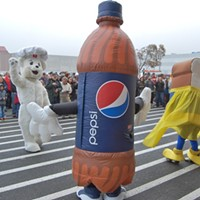 HSU Students Take on Pepsi
