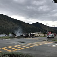 UPDATED: Early Morning Blaze at Hoopa High School