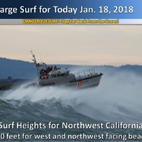 High Surf Closes Bay Entrance