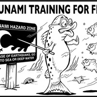 Tsunami Training for Fish