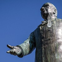 Breakup Letter from President McKinley's Statue