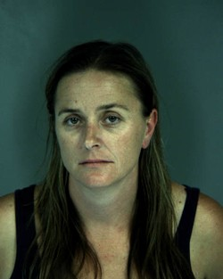 Marci Kitchen's booking photo.