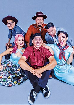 Las Cafeteras plays the Van Duzer Theatre at 8 p.m. on Friday, Aug. 24. - COURESTY OF THE ARTISTS
