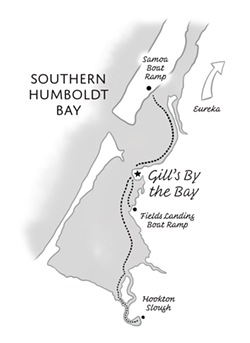 Map by Jacqui Langeland