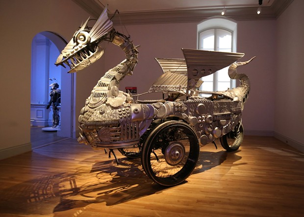 Duane Flatmo, Tin Pan Dragon, 2006. - PHOTO BY LIBBY WEILER