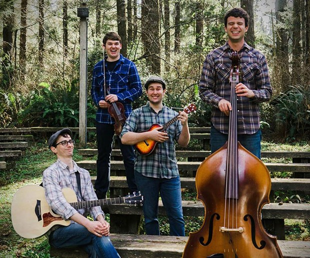 The Gatehouse Well plays the I Block Party on Labor Day, Monday, Sept. 3 around noon. - COURTESY OF THE ARTISTS